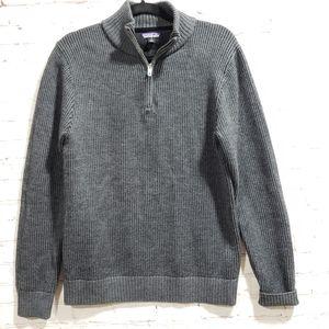 Patagonia Mens Merino Wool Sweater Gray